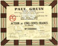 Tapety Paul Gruin 1928