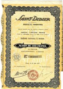 Saint-Didier Automobile 1927